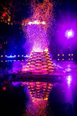 Floating Bonfire