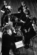 Ian Hobson and Sinfonia strings