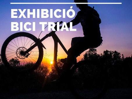 EXHIBICIÓ BICI TRIAL