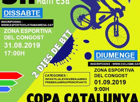 Campionat de Catalunya Infantil de BTT - Manbike