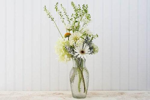 White Linen Bouquet