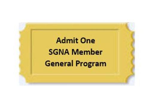 General Program SGNA Member  $115