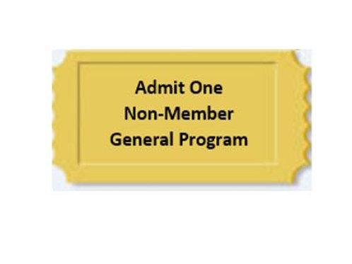 General Program Non-Member  $135
