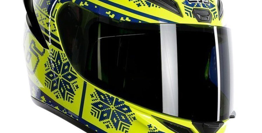 Casco Integrale Agv K1 Winter Test 2015