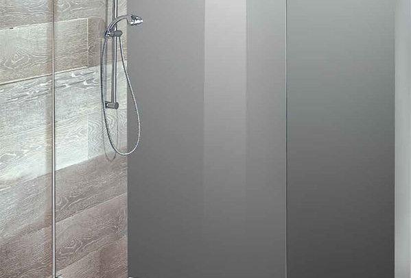 Box doccia - cristallo temperato sabbiato 8 mm.