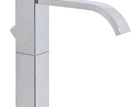 Monocomando lavabo alto con scarico automatico