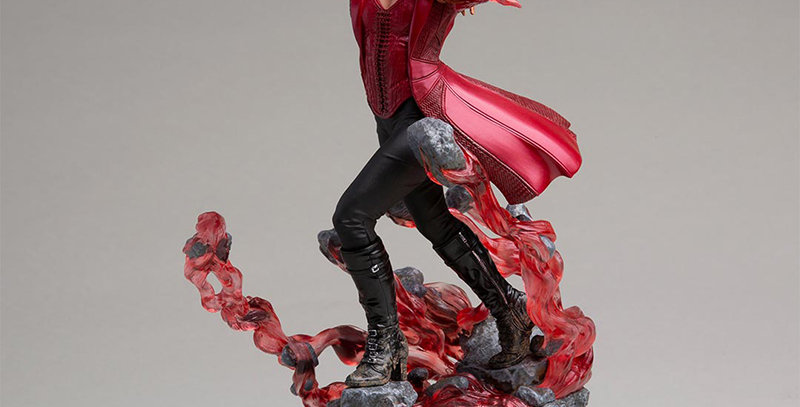 AVENGERS ENDGAME SCARLET WITCH ART STATU