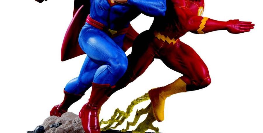 DC GALLERY SUPERMAN VS FLASH RAC II E ST