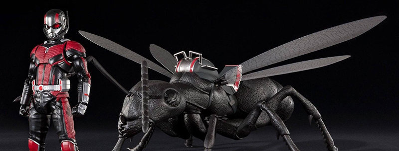 ANT-MAN & WASP ANTMAN + ANT DLX SET