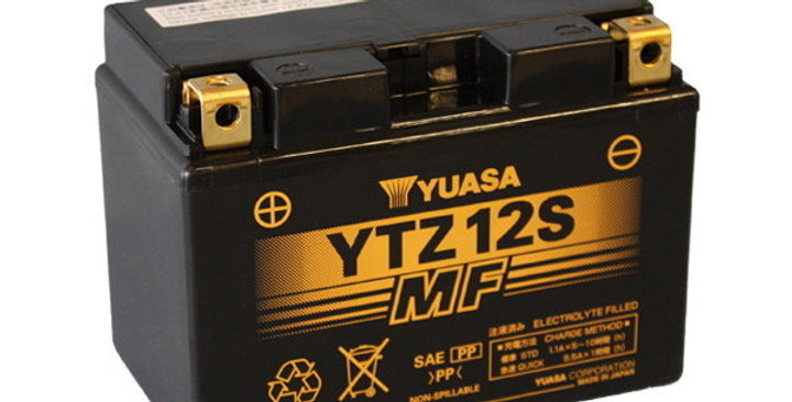 BATTERIA YUASA YTZ12S (SIGILLATA ATTIVATA - FACTORY SEALED) 12V/11AH