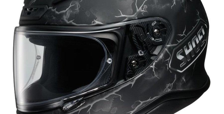 Casco Integrale Shoei NXR Ruts - Nero