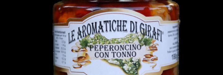 Peperoncino con Tonno 180 Gr.