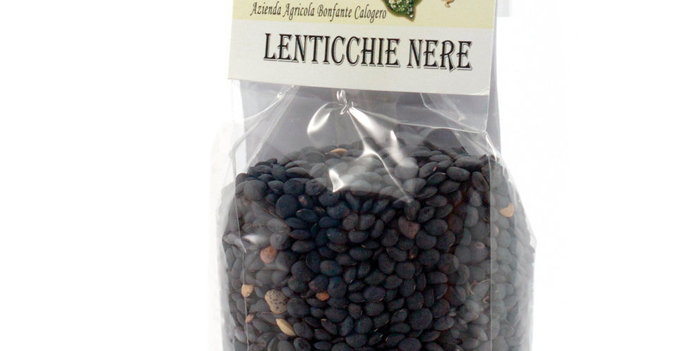 Lenticchie Nere  250 Gr.