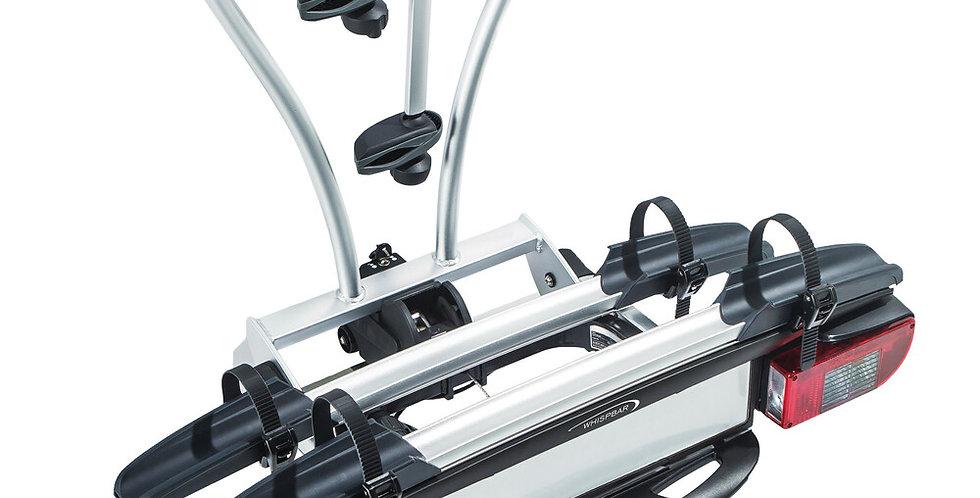 JustClick, portabiciclette per gancio traino - 3 bici