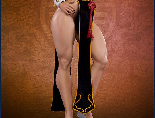 CHUN LI BATTLE DRESS EX 1:3 STATUE