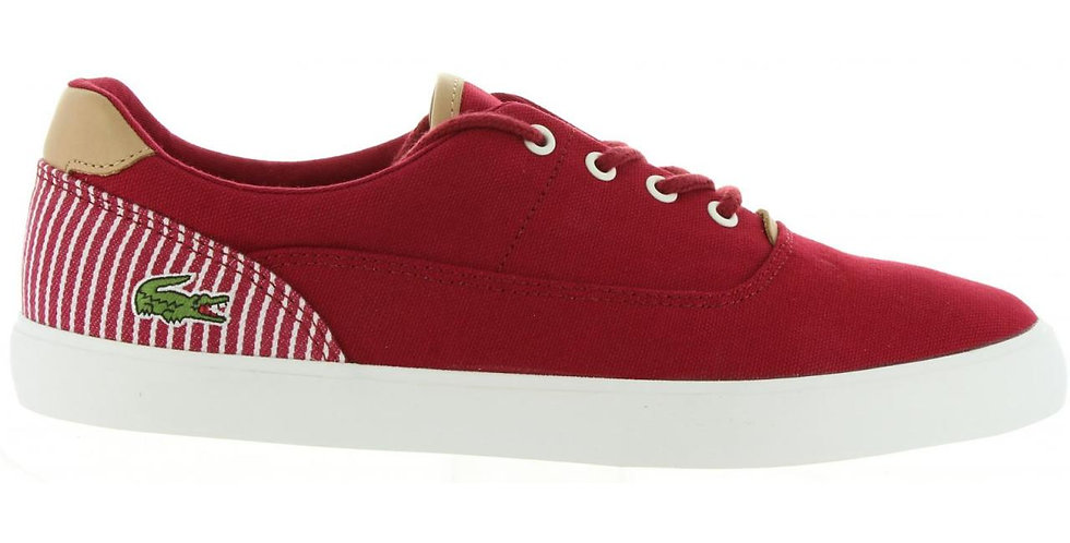 LACOSTE SNEAKERS UOMO DK RED
