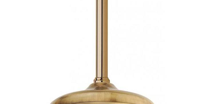 Braccio doccia a soffitto con soffione Ø 200 mm