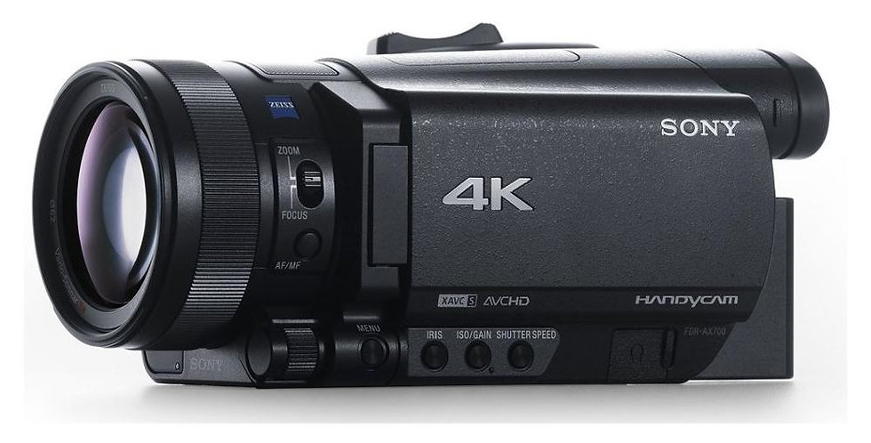 Videocamera Sony FDR-AX700 Camcorder 4K