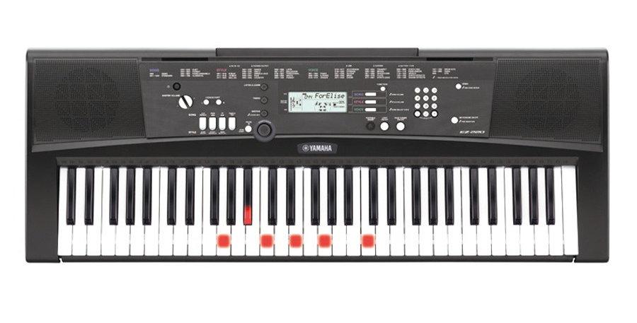 Tastiera musicale Yamaha EZ-220