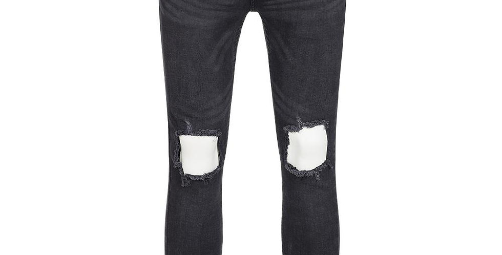 BRAVE SOUL JEANS UOMO DENIM BLACK