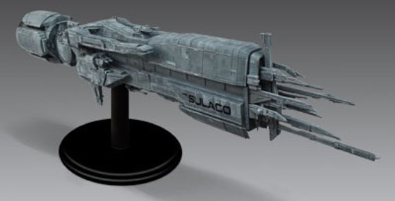 ALIENS USS SULACO LARGE SCALE MODEL