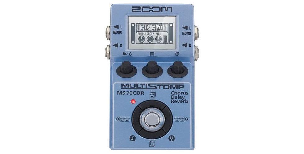 Multieffetto chitarra Zoom MS-70 CDR