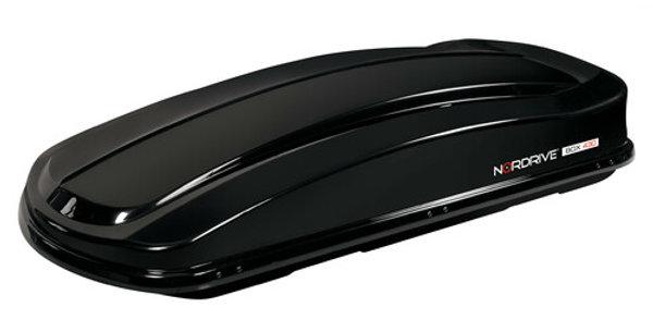 Nordrive box tetto 430 in ABS   - Nero lucido