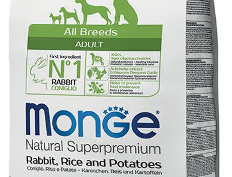 All Breeds Adult Coniglio Riso e Patate  Kg 12