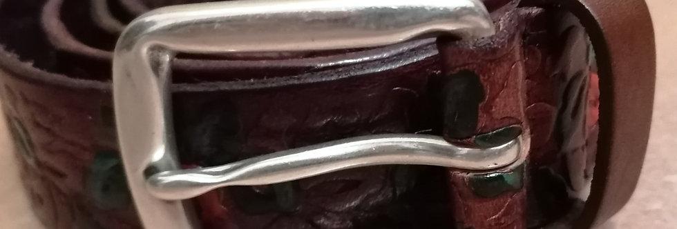 cintura cuoio