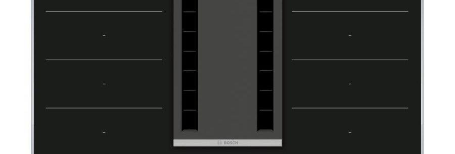 BOSCH  Piano cottura a induzione con cappa integrata 80 cm