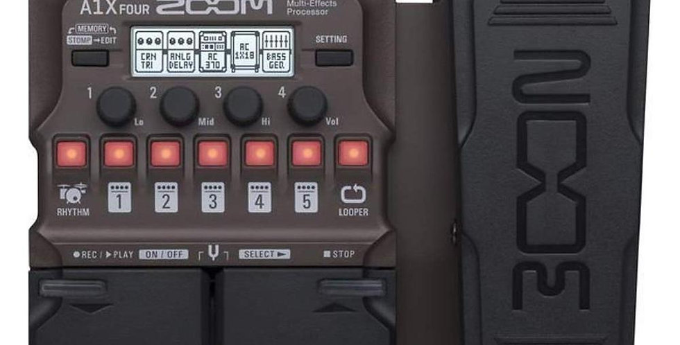 Multieffetto chitarra Zoom A1X FOUR