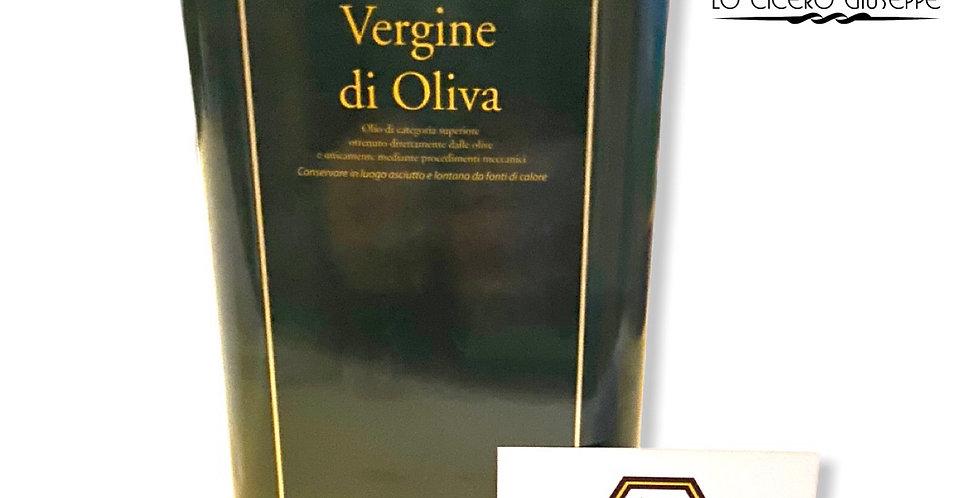 Olio Extravergine d'oliva Biologico Certificato Lt.1