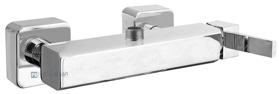Monocomando doccia esterno con attacco superiore