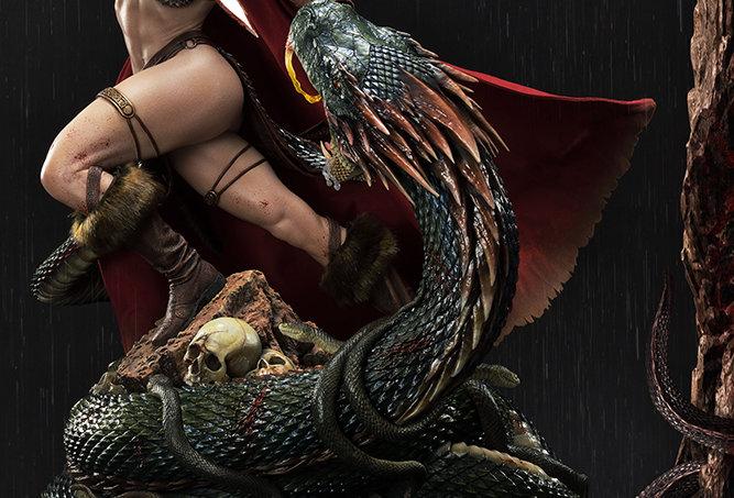 RED SONJA SHE DEVIL WITH A VENG DLX ST