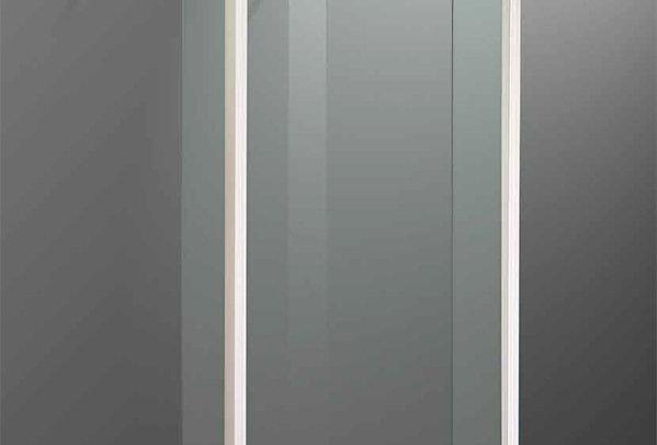 Box doccia  - cristallo temperato  trasparente 6 mm.