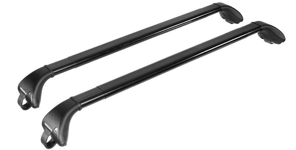 Nordrive Snap-Fit Steel barre portatutto telescopiche in acciaio