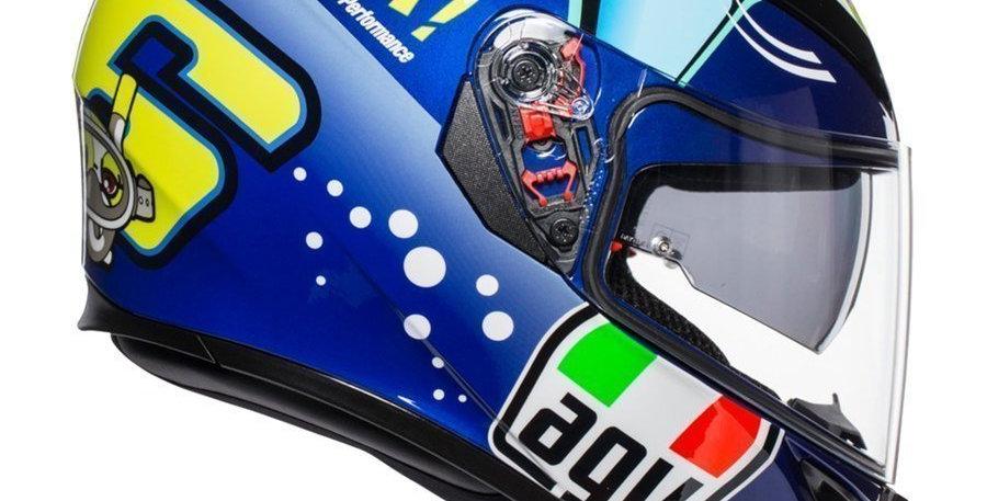 Casco Integrale Agv K3 SV Rossi Misano 2015