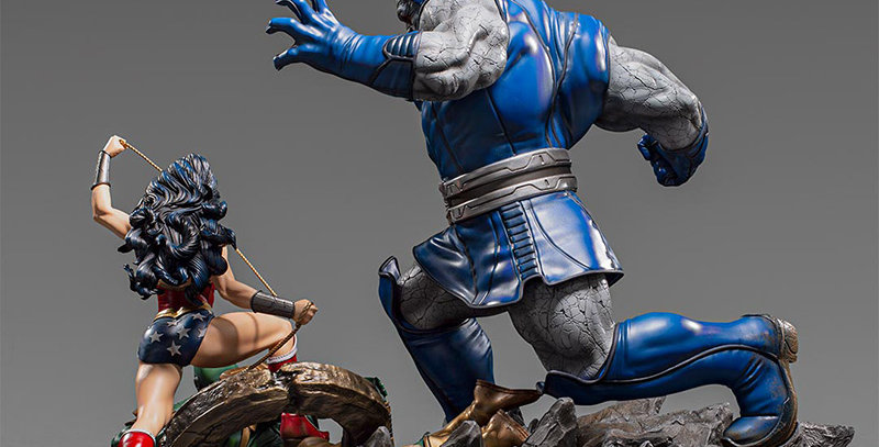 WONDER WOMAN VS DARKSEID 1/6 DIORAMA