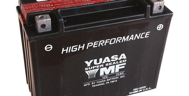 Batteria YUASA YTX24HL-B (SIGILLATA CON ACIDO A CORREDO) 12V/21AH