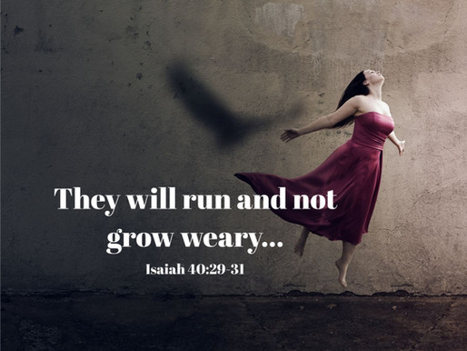 I Will Not Grow Weary