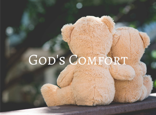 God Comforts Us In All Our Troubles.