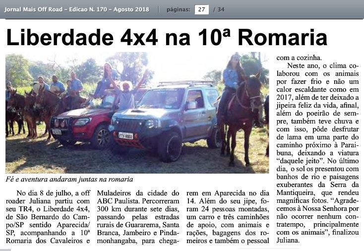 Liberdade 4x4 no Joral Mais Off Road