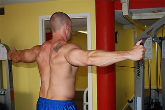 Personal Trainer Franklin TN. How to rear delt fly.