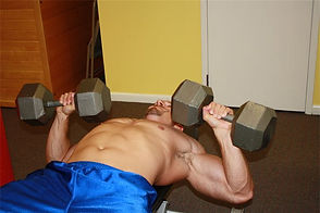 Personal Trainer Franklin TN. How to dumbbell chest press.