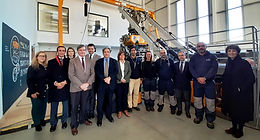 Minister of the Sea visits EMEPC