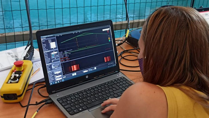 Multibeam tests successfully performed!