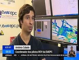 Descoberto Campo de Corais moles nos Capelinhos - Reportagem RTP Bom Dia Portugal