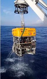 Lançamento do ROV Luso em direto na Campanha Explosea2