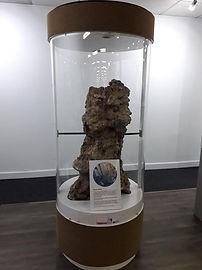 Chaminé Hidrotermal em Exposição na ISA