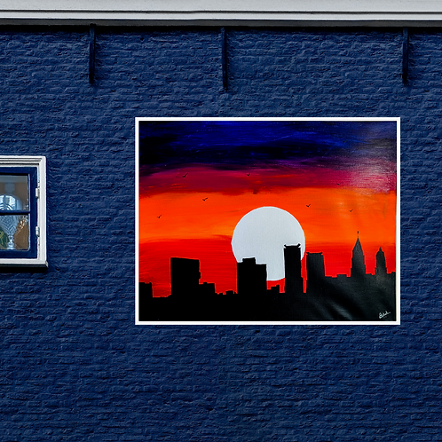 City Skyline Dark
